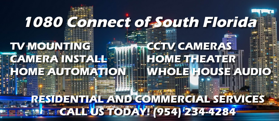 Award Winning South Florida TV Mounting Services