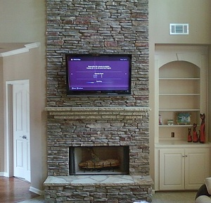 We offer flat panel tv mounting on walls